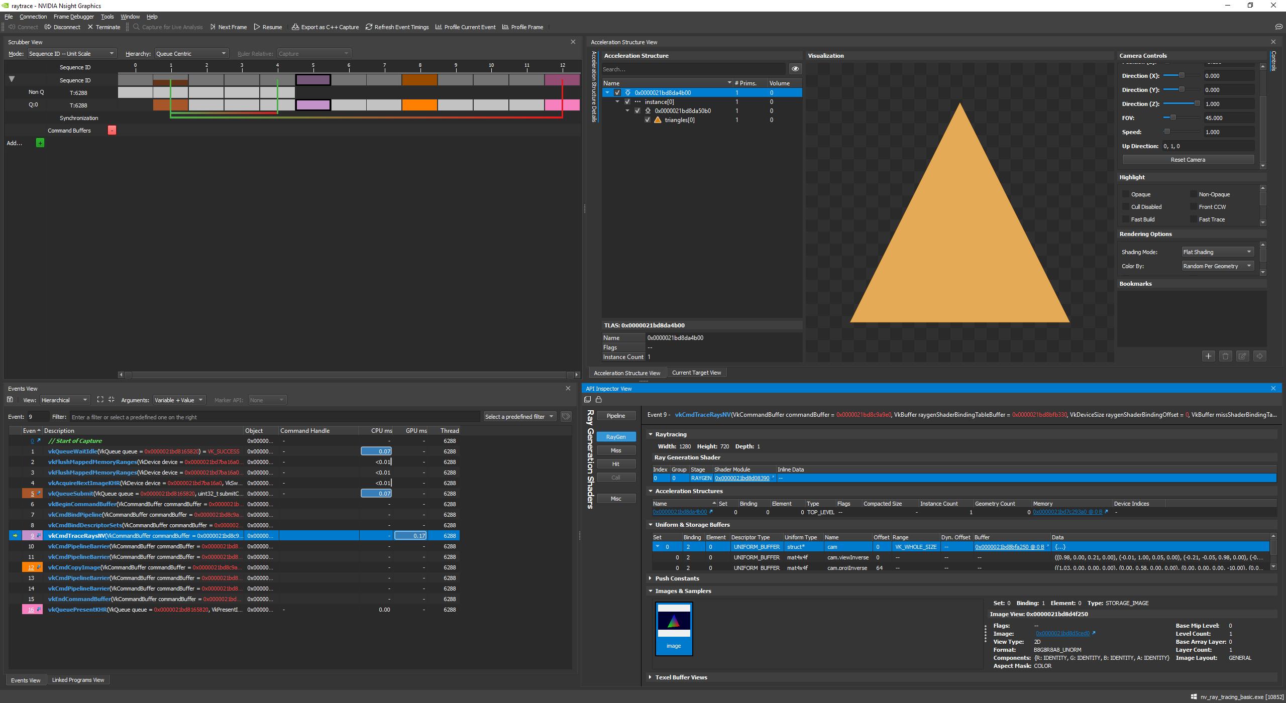 New Vulkan example on raytracing using VK_NV_ray_tracing - Sascha