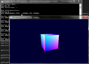 Using OpenGL ES on windows desktops via EGL - Sascha Willems